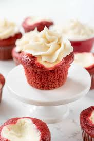 red velvet cheesecake cupcakes crazy for crust