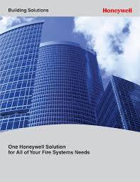 xls3000 fire alarm system honeywell building solutions