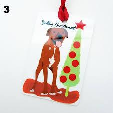 great dane kisses christmas ornament dog park publishing