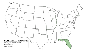 Blank 50 States Map November 2010 Dan U0027s Marathon Page 3