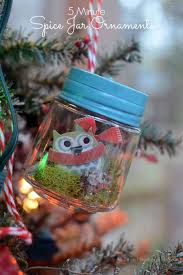 tiny jar ornament 5 minutes all things and home