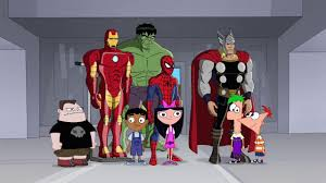phineas and ferb phineas and ferb mission marvel phineas and ferb wiki fandom