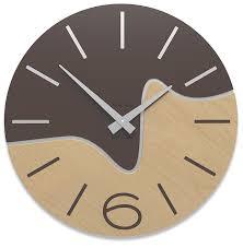 horloge cuisine moderne beautiful idee couleur cuisine moderne 15 horloge bois design