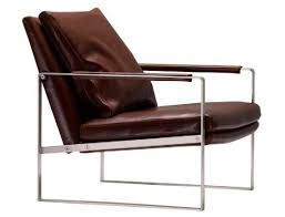 Leather Lounge Chair Leather Lounge Chair With Stainless Frame Cool Material