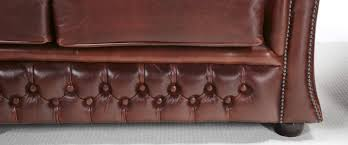 Red Leather Chesterfield Sofa by Gladstone Chesterfield Sofa Chesterfield Sofa Company