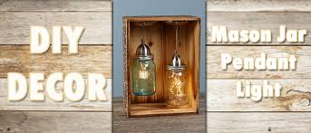 Jar Pendant Light Diy Mason Jar Pendant Light Lemhi Lumber