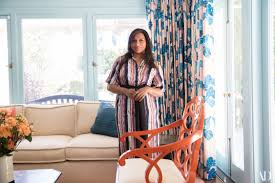 mindy kaling gives ad a tour of her vibrant los angeles home
