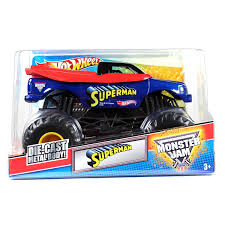 monster truck racing uk amazon com wheels monster jam 1 24 scale die cast official