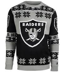 raiders christmas sweater with lights oakland raiders nfl ugly christmas sweater in barrie ontario the
