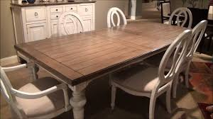 driftwood dining room table summer hill rectangular leg dining room set in driftwood cotton by
