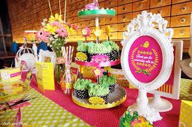 kara u0027s party ideas colorful garden themed birthday party via