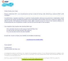edf nous alerte sur les arnaques mail phishing panoptinet