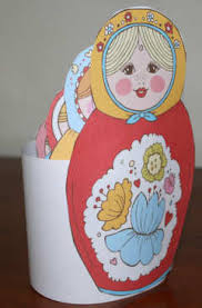 russian dolls printable craft for kids