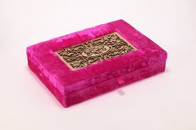 Indian Wedding Card Box Blaze