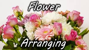 Flower Arranging For Beginners Flower Arranging Trick Youtube