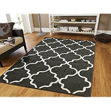Gray Rug 8x10 Amazon Com Luxury Large 8x11 Gray Moroccan Trellis Area Rug Grey
