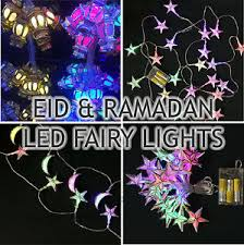 ramadan and eid decorations lights gold silver led lights
