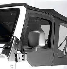 jeep wrangler door mirrors exterior rugged ridge om 11002 11 rugged ridge modern style