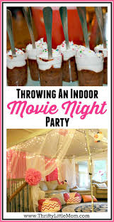 backyard movie night birthday party ideas home outdoor decoration
