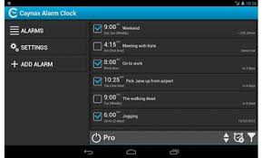 android alarm clock the daily app caynax alarm clock for android page 1 crn