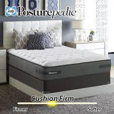 sealy posturepedic plus series ashton cushion firm queen mattress