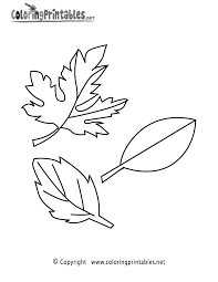fall leaves coloring page a free seasonal coloring printable