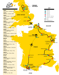 Rouen France Map by Tour De France 2014 Map Recana Masana