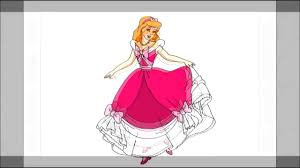how to draw cinderella easy step by step drawing lessons for