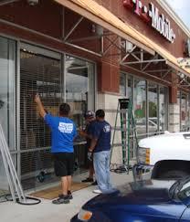 store front glass doors storefront doors u2014 virginia glass doors and window repair 571