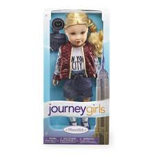 journey girls 18 inch fashion doll meredith toys