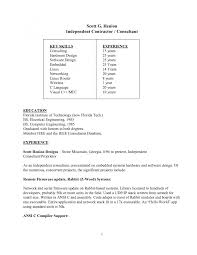 Resume Samples General Contractor by Resume Contractor Resume