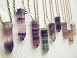 necklace crystals images Restocked fluorite crystal necklace crystal point necklace jpg