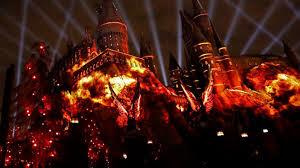 Light Show Universal Studios Hollywood To Introduce U0027bone Chilling U0027 Harry