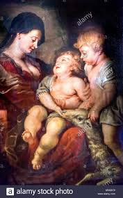 santa and baby jesus picture baby jesus rubens paintiing santa giglio