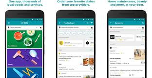 delivery service app exclusive food delivery home services app by headline