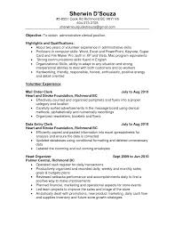 Warehouse Clerk Resume Sample Insurance Clerk Resume Sample Samplebusinessresume Com Mailroom