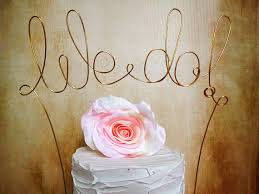 we do cake topper we do cake topper banner shabby chic wedding rustic wedding