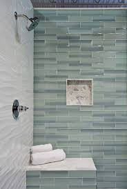 bathroom shower tile ideas subway tile shower grey bathroom tile