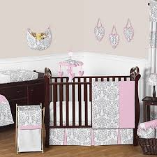 Jojo Crib Bedding Sweet Jojo Designs Elizabeth 11 Crib Bedding Set In Pink