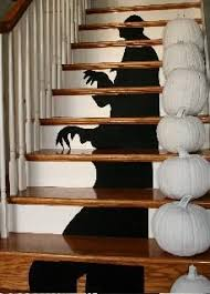 Stairs Decorations by Ideas U0026 Inspirations Shadow In The Stairs Halloween Staircase