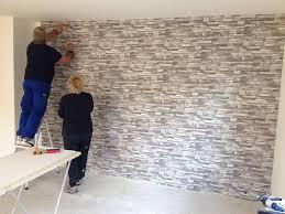 natursteinwand wohnzimmer haus renovierung mit modernem innenarchitektur steinwand