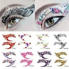 temporary stickers instant eye shadow
