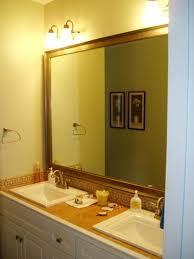 Trim Around Bathroom Mirror Wood Trim Around Bathroom Mirror Master Bathroom Mirror Before