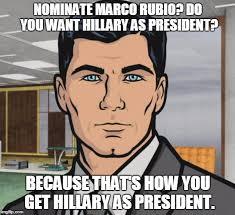 Rubio Meme - archer meme imgflip