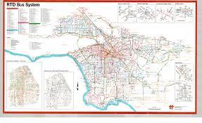 La Metro Bus Map by Libraryarchives Metro Net Dpgtl Maps