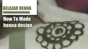 disain belajar henna melukis henna disain morocco youtube