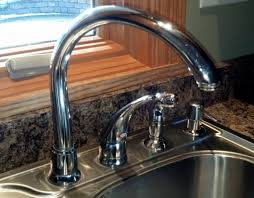 kitchen faucet leak how to fix leaking moen high arc kitchen faucet diy
