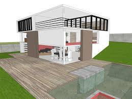 Home Design Using Google Sketchup by 3d Model Modern House White Cgtrader