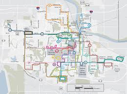 Metro Bus Routes Map by Routes Lawrencetransit Org