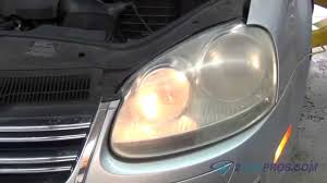 car light bulb replacement headlight bulb replacement volkswagen jetta 2005 2010 youtube